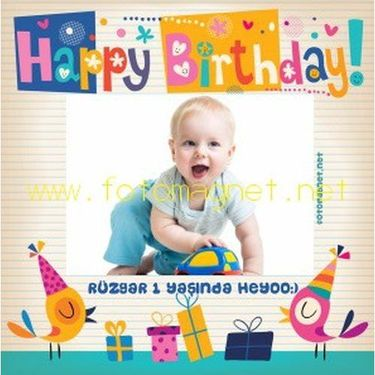 Happy Birthday Ku�lu Magnet